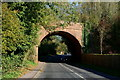 SU5732 : Railway Bridge at New Alresford, Hampshire by Peter Trimming