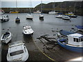 NO8785 : Small boats in the Inner Basin, Stonehaven by Stanley Howe