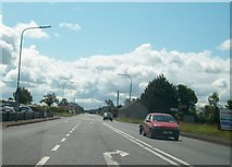 N6383 : Maghera Cross Roads on the N3 at Carrakeelty Beg  by Eric Jones