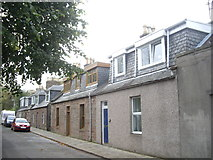 NO8785 : Cottages in Carron Terrace, Stonehaven by Stanley Howe