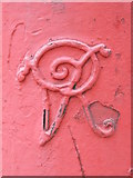 TQ2282 : Victorian postbox, Harrow Road / Letchford Gardens, NW10 - royal cipher by Mike Quinn