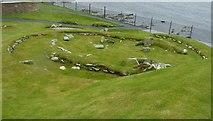 HU3909 : Jarlshof - Iron Age remains by Rob Farrow
