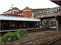 SX9193 : Exeter Central Station by Andrew Abbott