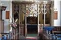 TL9676 : St Andrew, Barningham - Screen by John Salmon
