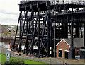 SJ6475 : Anderton Boat Lift, Cheshire by Roger  Kidd