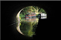 ST7565 : Narrowboat on Kennet and Avon Canal by Philip Halling