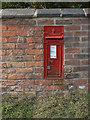 SK6334 : Clipston postbox ref no.NG12 127 by Alan Murray-Rust