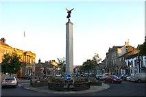 SD9951 : The war memorial in Skipton by Steve Daniels