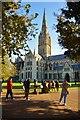 SU1429 : Salisbury Cathedral by Eugene Birchall