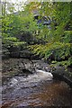 NY7707 : Stenkrith & Millennium Bridges by Ian Taylor