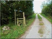 SX8467 : Orange Way in Devon and Torbay (89) by Shazz