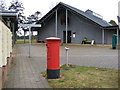 TM2849 : Sutton Hoo Exhibition & Treasury & Sutton Hoo Postbox by Adrian Cable