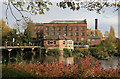 SK3538 : Boar's Head Mills, Darley Abbey by Chris Allen