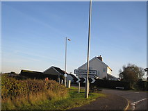 TF0684 : Faldingworth - Junction of Buslingthorpe Road with Lincoln Road (A46) by Alan Heardman