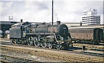 TQ2775 : Clapham Junction (Windsor Lines), with BR Standard 4-6-0 by Ben Brooksbank