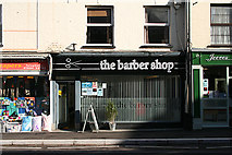 ST0207 : Cullompton: The Barber Shop by Martin Bodman
