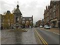 NN8621 : St James Square, Crieff by David Dixon