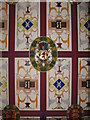NS7994 : The King's Bedchamber ceiling  by M J Richardson