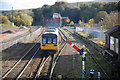 NY9464 : Hexham Departure by roger geach