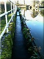 SD5043 : Canal spillway by Peter Bainbridge