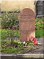 NT2573 : Greyfriars Bobby's Grave by David Dixon