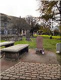 NT2573 : Greyfriars Kirkyard and John Gray's Grave by David Dixon
