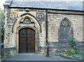 SE1516 : Doorway, Christ Church, Moldgreen by Humphrey Bolton