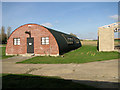 TM2353 : Debach airfield  - Nissen hut housing one of the museums by Evelyn Simak