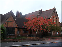 TQ3068 : St Philips Church and Vicarage, Norbury by David Anstiss
