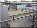 TQ3981 : Canning Town DLR station: the lower level platforms, from the higher level ones by Christopher Hilton