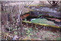 NT3337 : Remains of mill lade above Kirklands, Innerleithen by Jim Barton