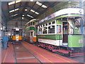 NS7265 : Summerlee Tram Depot by M J Richardson