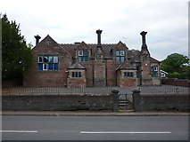 SJ7744 : Sir John Offley CofE Primary School, Madeley by Alexander P Kapp