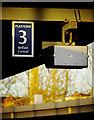 J3473 : Platform sign, Belfast Central Station by Rossographer