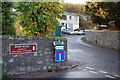NT4935 : Footpath sign in suburban Galashiels by Jim Barton