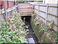 TQ3168 : Norbury Brook: looking upstream at Quadrant Road by Christopher Hilton