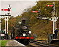 TQ3729 : Arrival at Horsted Keynes by Peter Trimming