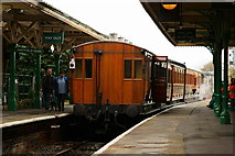 TQ3729 : Vintage Carriages at Horsted Keynes by Peter Trimming