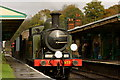 TQ3729 : Vintage Train at Horsted Keynes Station by Peter Trimming