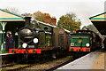 TQ3729 : Vintage Trains at Horsted Keynes Station by Peter Trimming