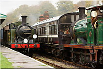 TQ3729 : Vintage Trains at Horsted Keynes Station by Peter Trimming