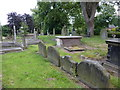 SJ7744 : All Saints', The Parish Church of Madeley, Graveyard by Alexander P Kapp
