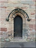 SJ7744 : All Saints', The Parish Church of Madeley, Doorway by Alexander P Kapp