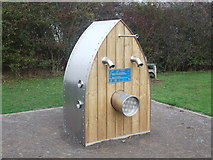 TQ8068 : Artwork in Riverside Country Park by David Anstiss