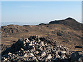 NY2307 : Rocks at summit of Esk Pike by Trevor Littlewood