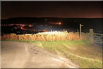 SK2081 : Bend in Road by Mick Garratt