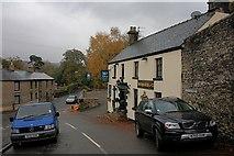 SK2375 : The Moon Inn, Stony Middleton by Mick Garratt