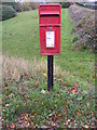 TG2800 : Wellbeck Farm Postbox by Adrian Cable
