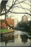 TR1458 : The Great Stour at Canterbury in 1970 by John Baker