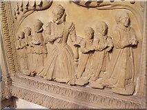 SK7953 : Detail of Markham Monument, St Mary Magdalene church, Newark by J.Hannan-Briggs